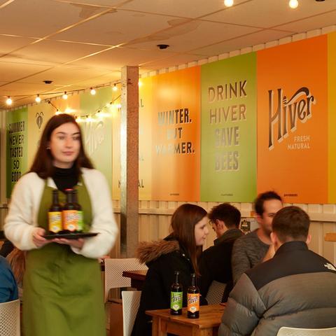 Hiver Beers Taproom Beer Tasting London